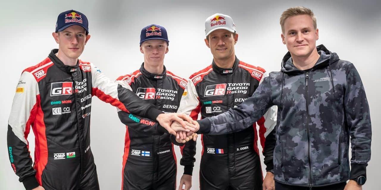 WRC: Toyota confirme Lappi pour 2022, Veillas remplacera Ingrassia aux côtés d'Ogier