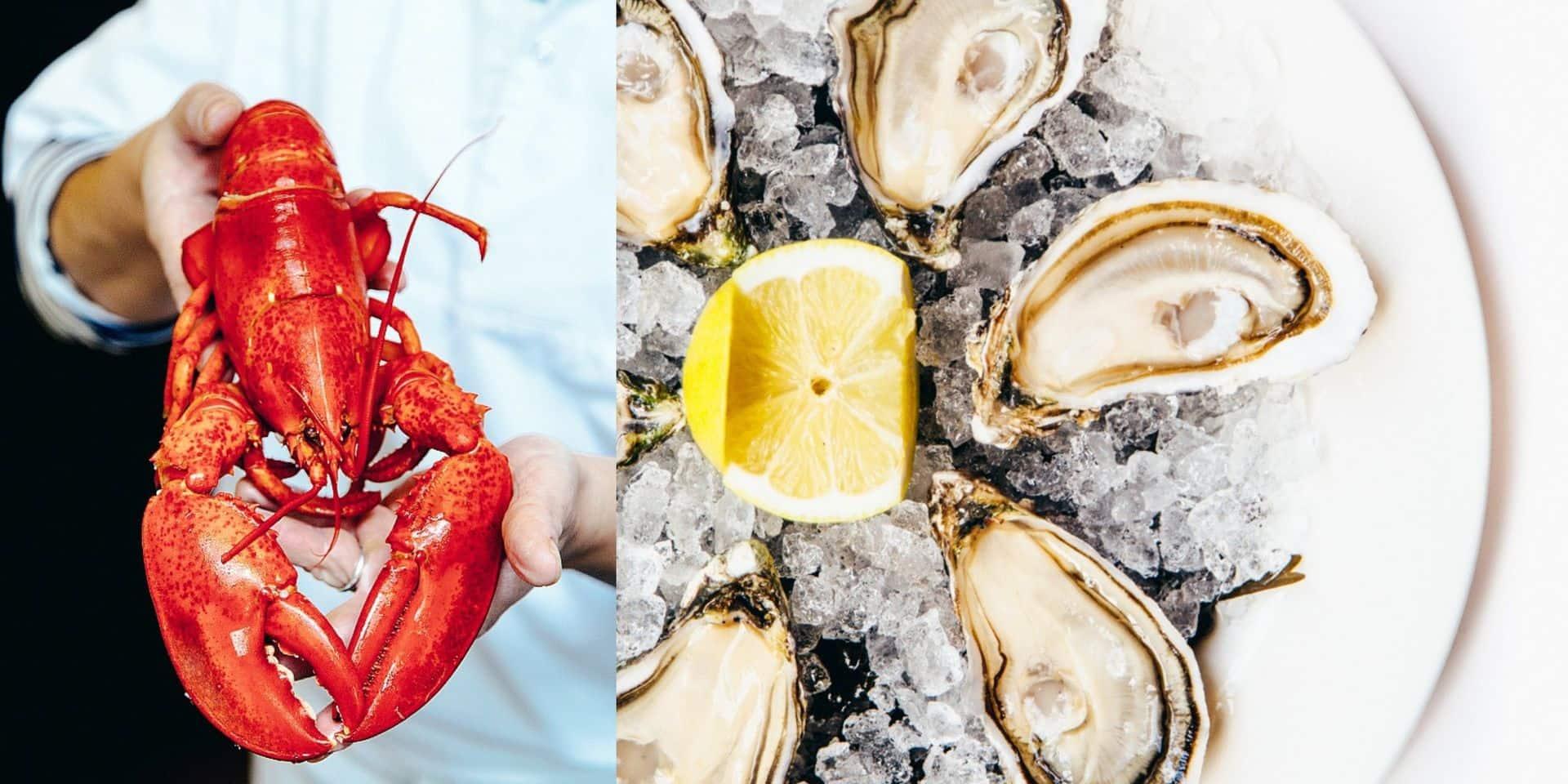 Pour la Saint-Valentin, optez pour un délicieux plateau de fruits de mer de chez Belga Queen à la maison