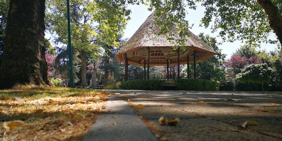 Premier retard dans la rénovation du parc de Dour