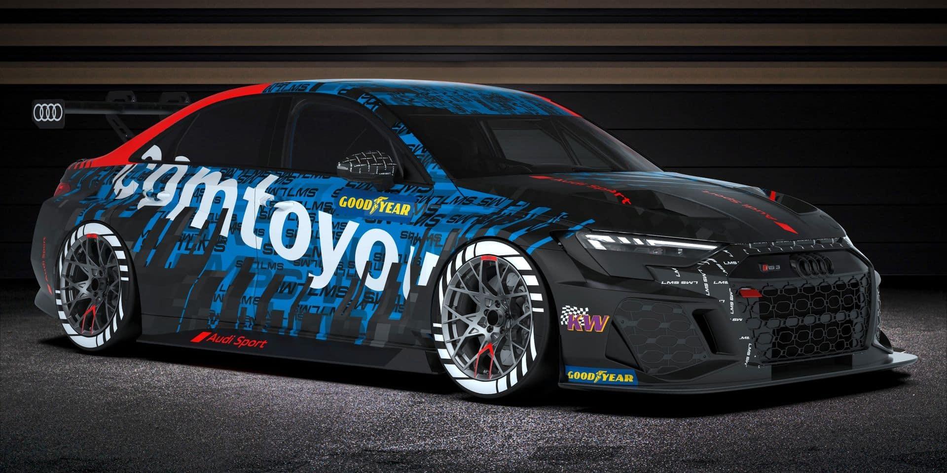 Comtoyou Racing et Fred Vervisch visent le titre mondial en Tourisme avec la nouvelle Audi RS3 LMS