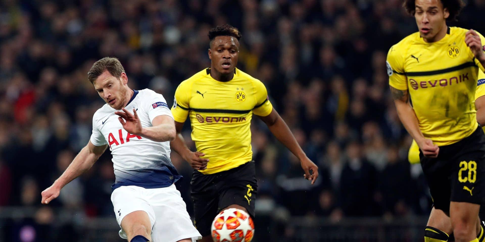Vertonghen homme du match, Witsel s'est éteint: les notes des joueurs clé de Tottenham-Dortmund