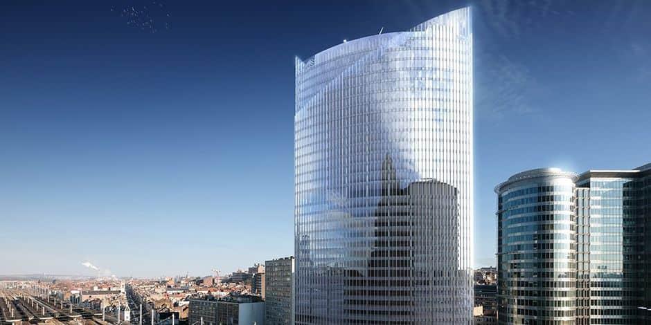Quelque 2 000 fonctionnaires des services publics vont emménager dans la nouvelle Iris Tower