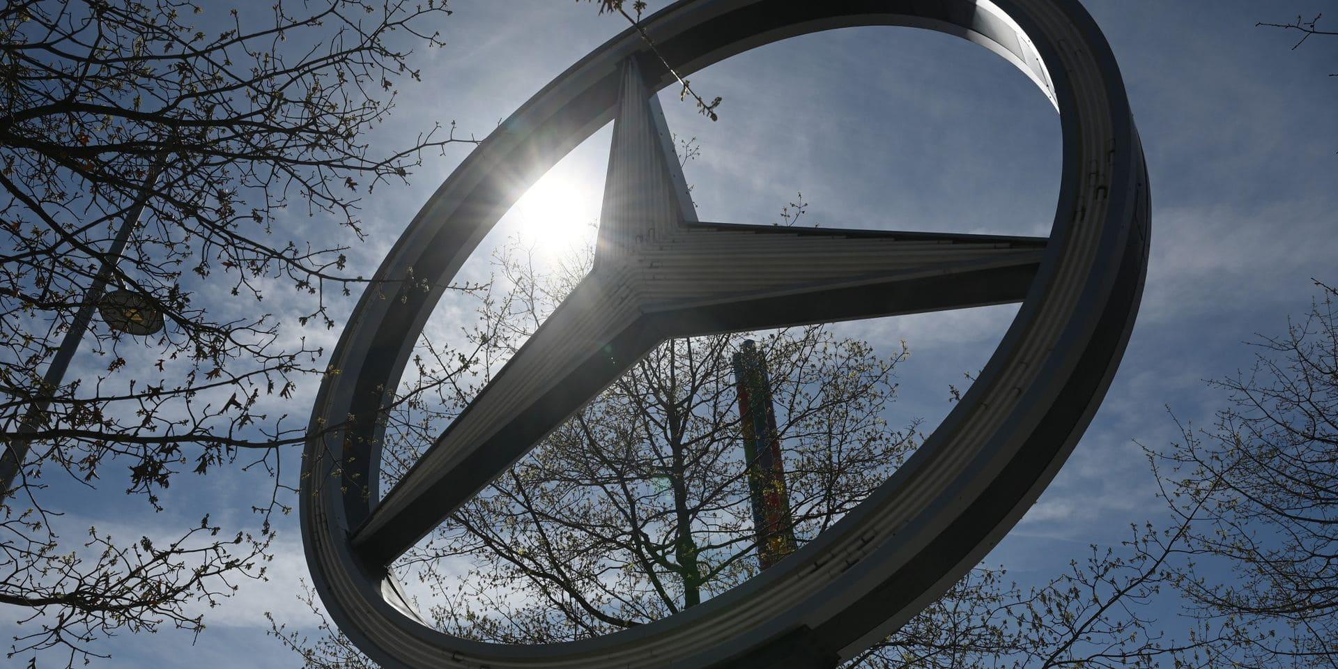 Mercedes-Benz rappelle plus de 342.000 voitures aux USA