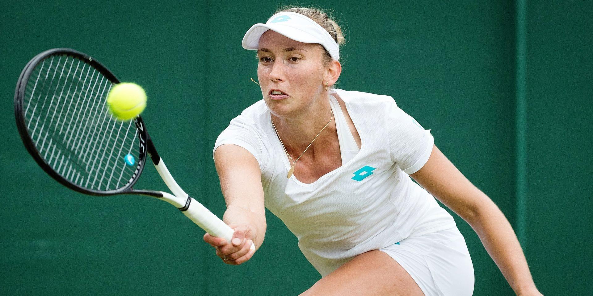 Mertens brille à Wimbledon et ce n'est que justice!