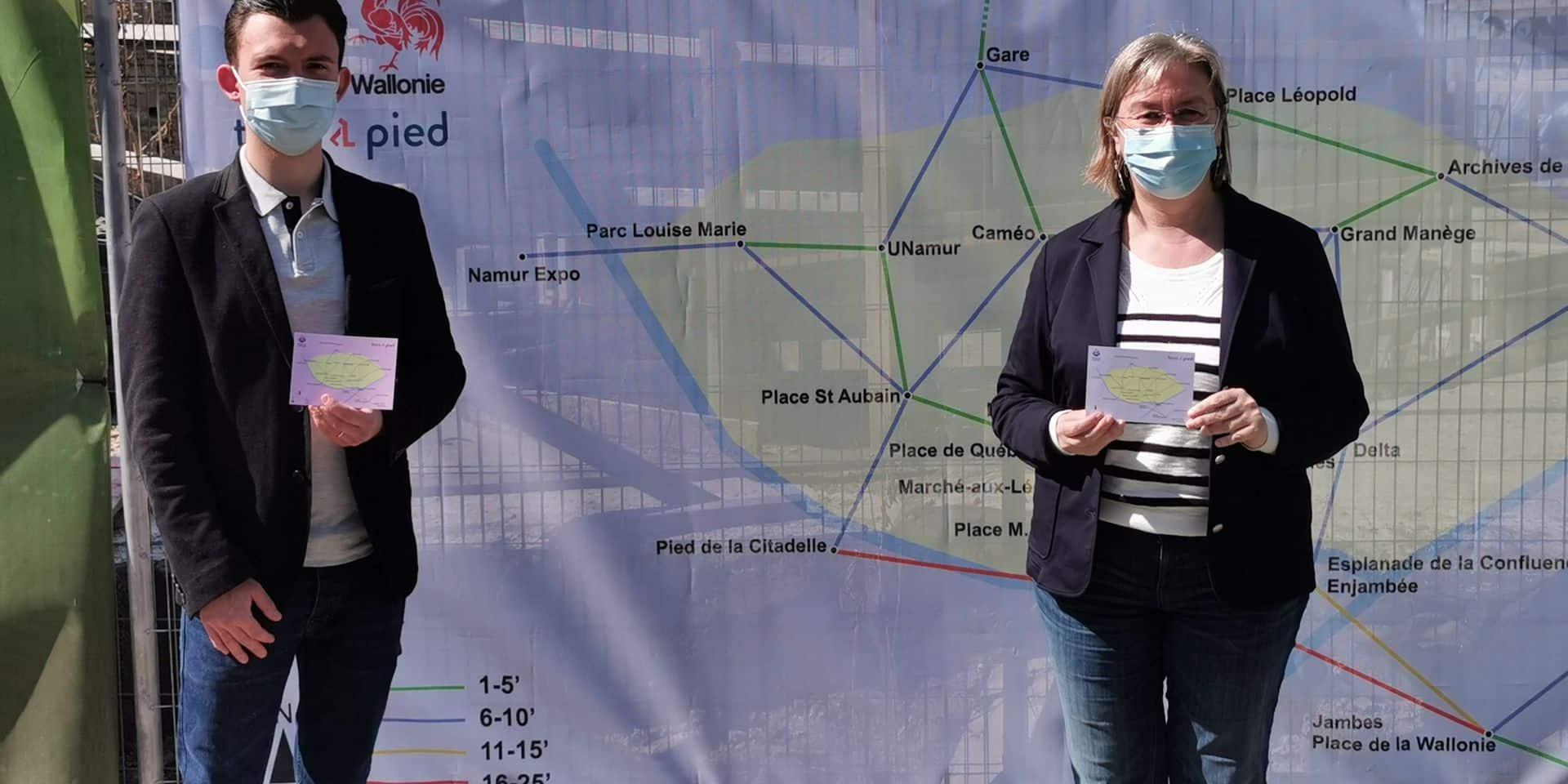Namur: la Ville met la marche à l'honneur