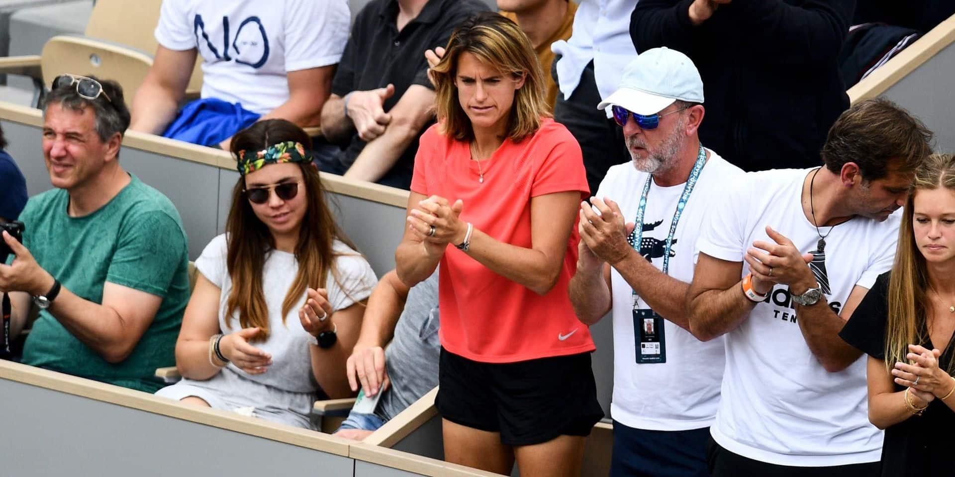 Roland-Garros: le coup de gueule d'Amélie Mauresmo