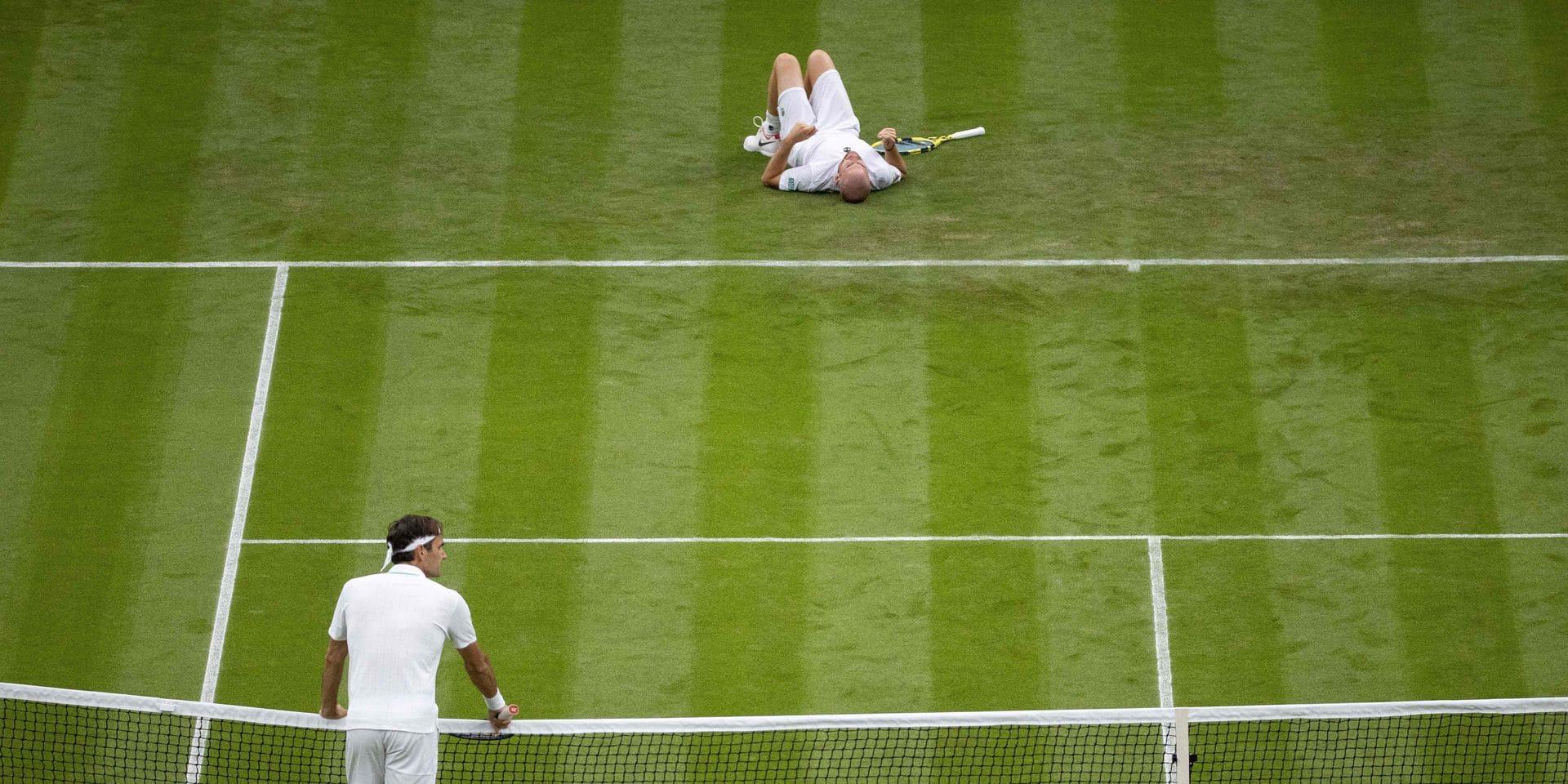 Federer, le miraculé de Wimbledon face à Mannarino !