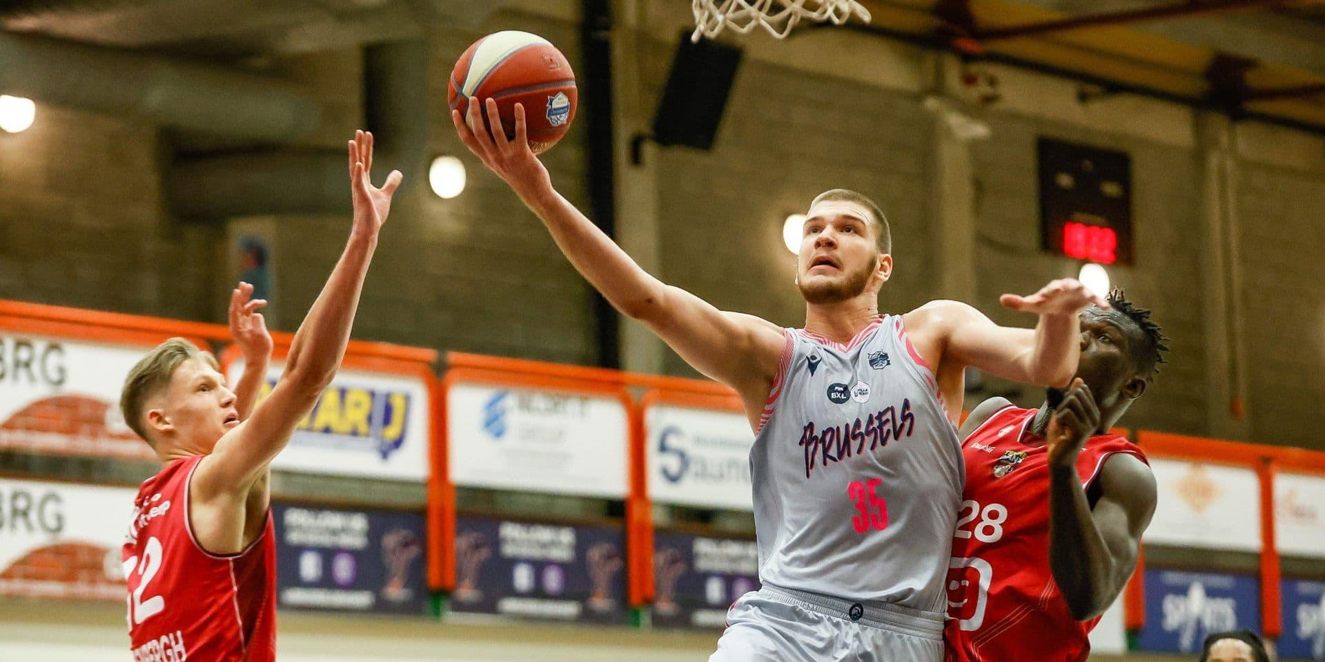 Euromillions Basket League : Anvers s'impose au Brussels en ouverture