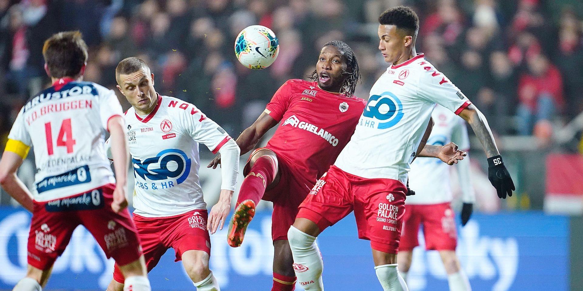 Sans Mbokani, la tâche se complique pour l'Antwerp
