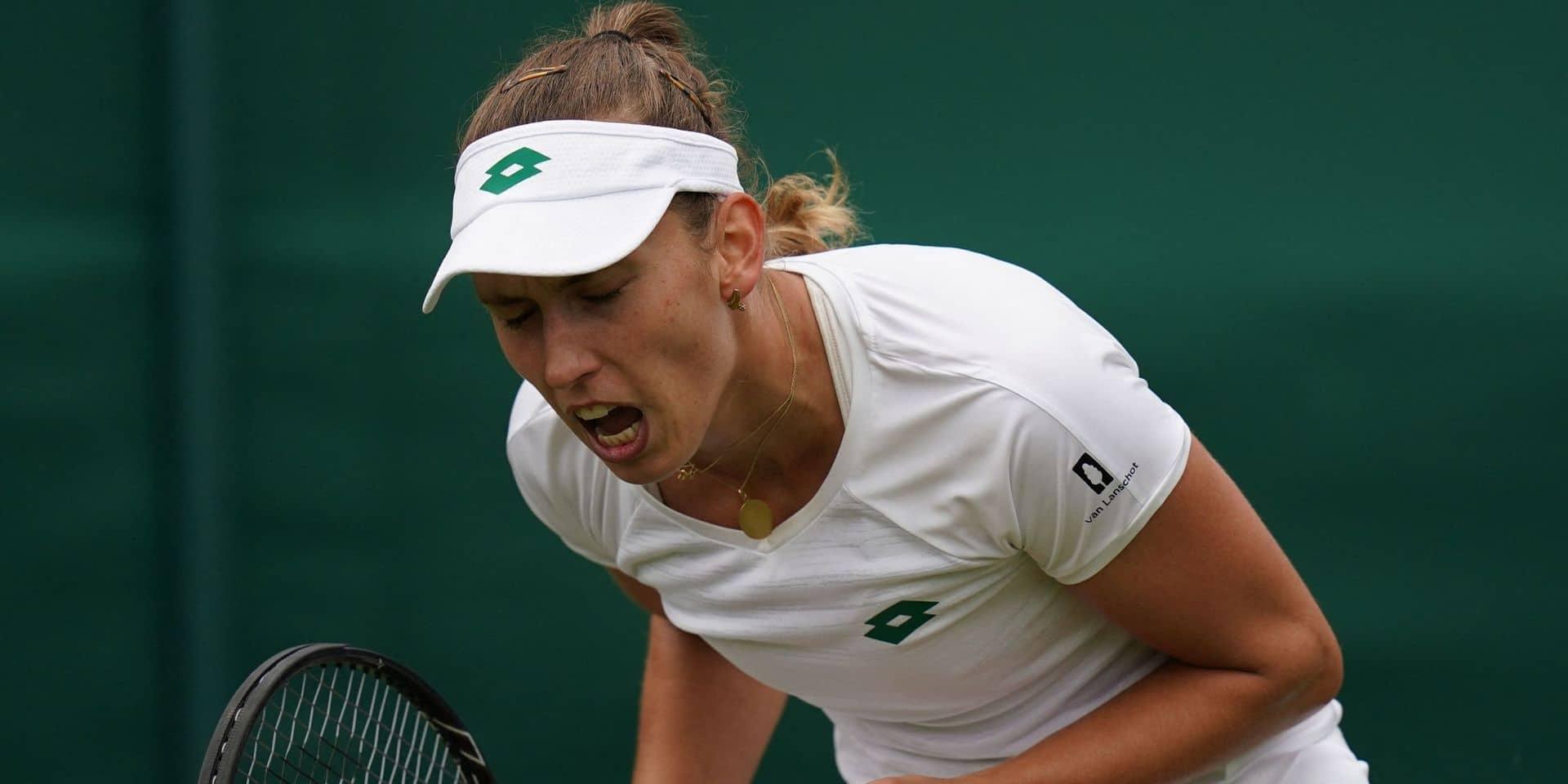 """Elise Mertens file facilement au 3e tour de Wimbledon: """"Tout était un peu meilleur que lors du premier match"""""""