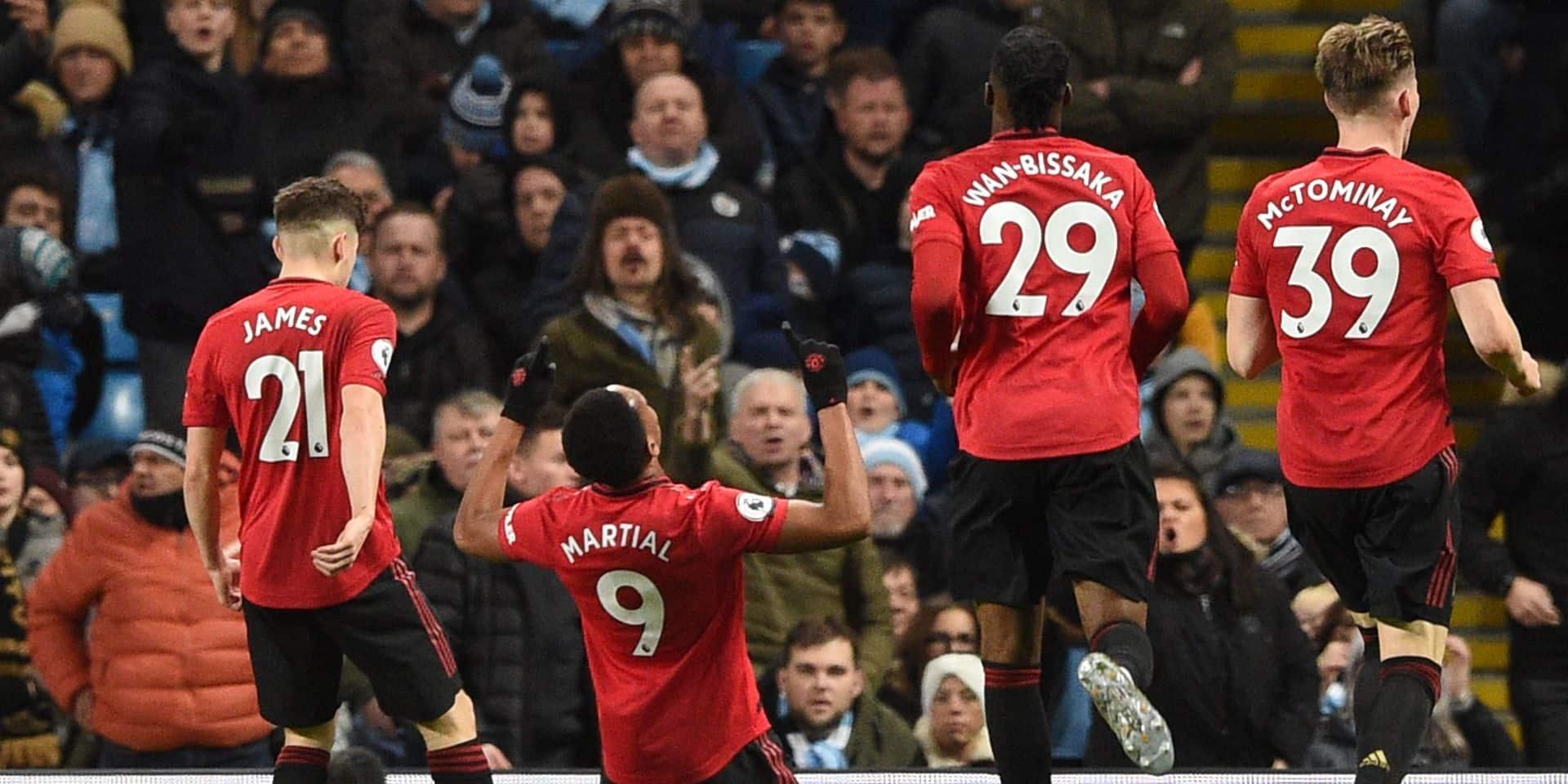 Manchester United terrasse City chez lui