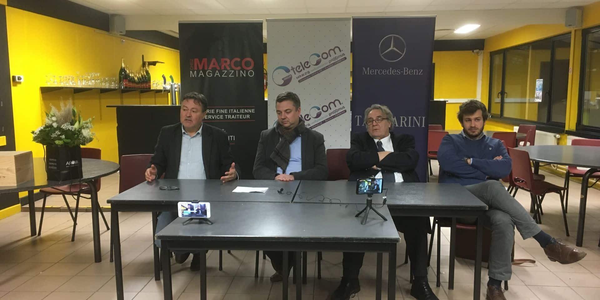 Bernard Annet et Frédéric Étienne reprennent l'UR Namur FLV