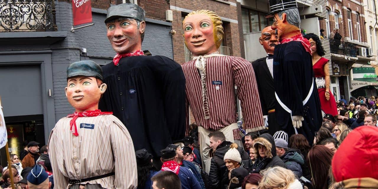 Carnaval de Charleroi: certains Géants, en mauvais état, ne pourront pas sortir cette année