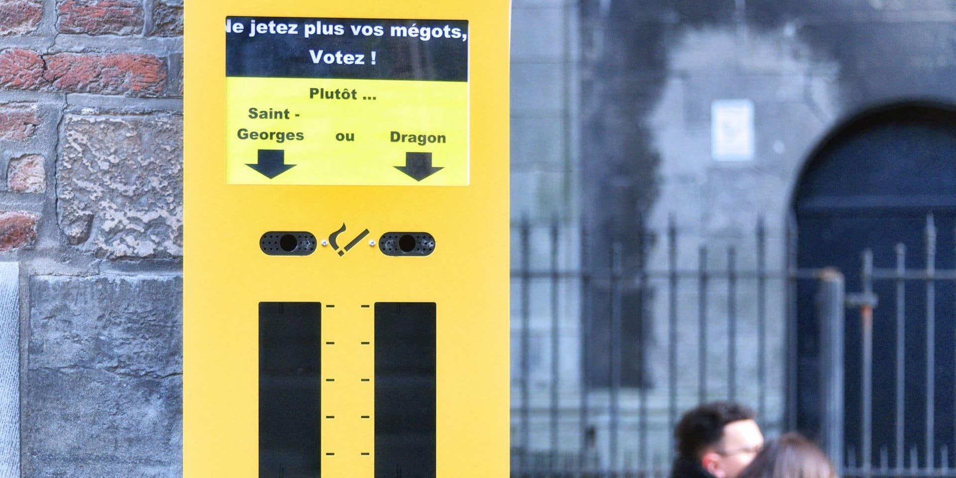 Mons: Les cendriers de sondage se multiplient