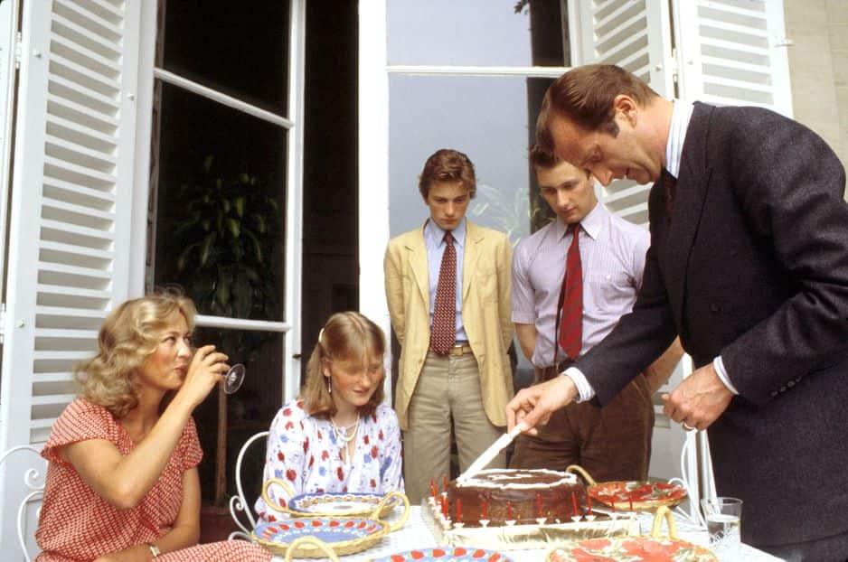 1978. Le prince Philippe fête ses 18 ans en famile