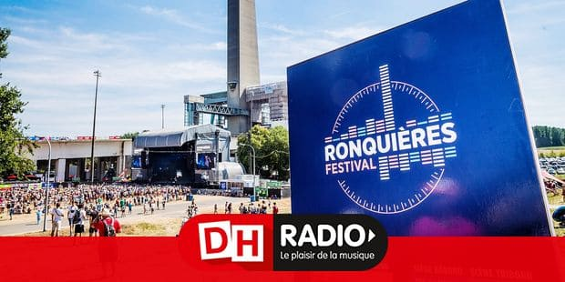 Illustration picture shows the Ronquieres Festival logo on the first day of the 7th edition of the 'Ronquieres Festival' music festival in Ronquieres, Saturday 04 August 2018. This year's edition of the festival takes place on 4 and 5 August. BELGA PHOTO HATIM KAGHAT