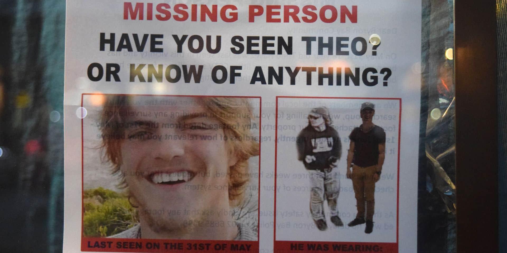 Une casquette retrouvée près du lieu de disparition de Théo Hayez en Australie