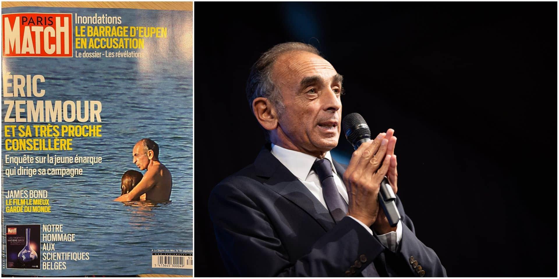 Paris Match provoque un tollé avec sa Une sur la vie privée d'Eric Zemmour, le polémiste réagit