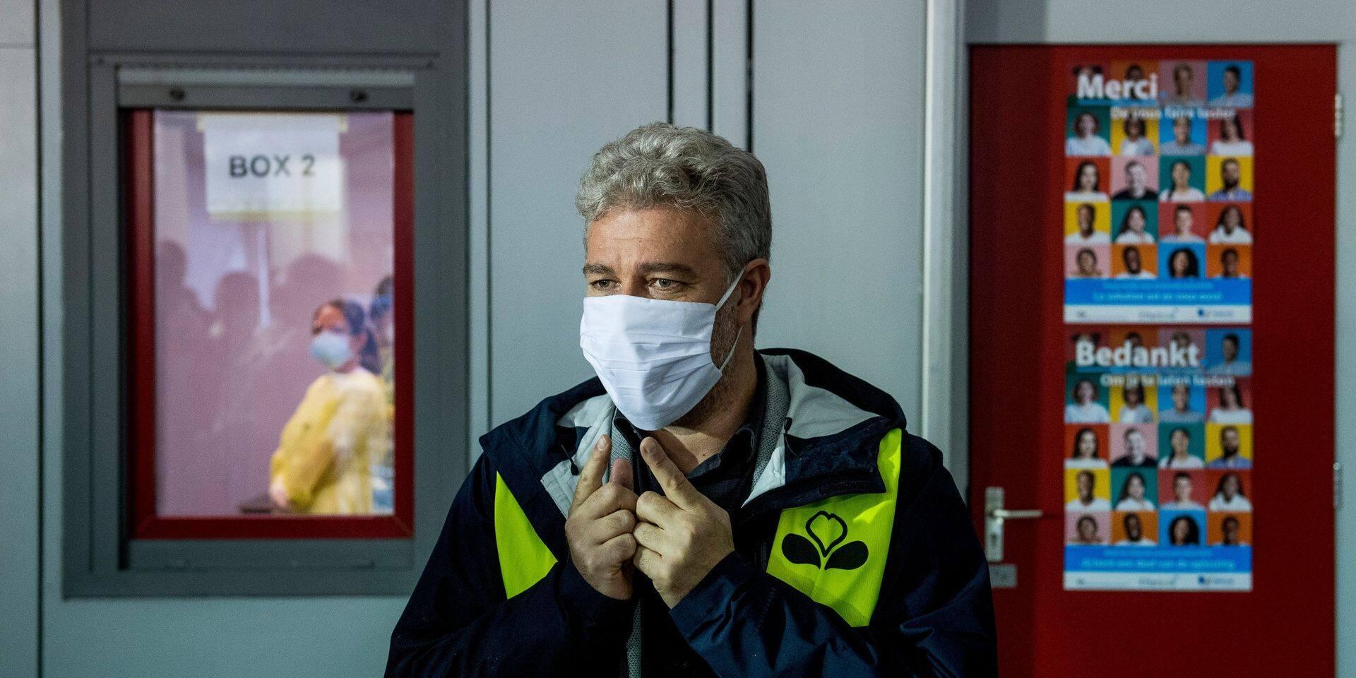 """Face à l'augmentation des hospitalisations à Bruxelles, Alain Maron estime qu'il faut rester """"vigilant"""""""