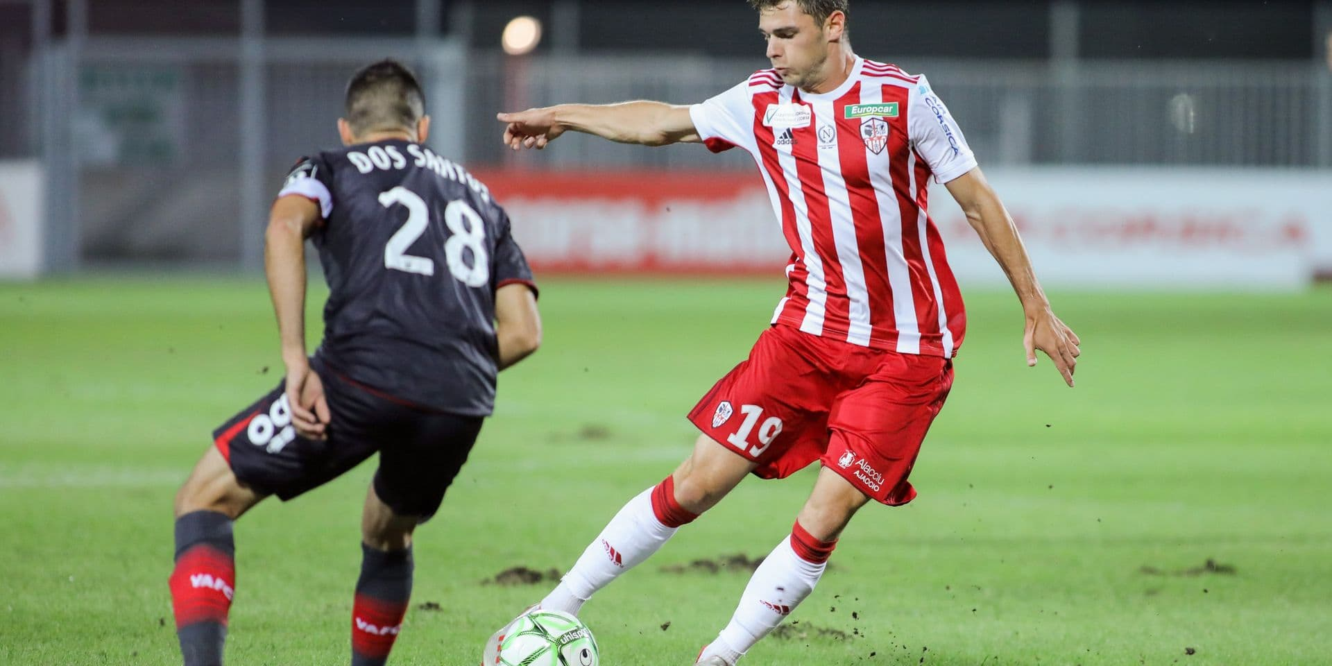 Athletic Club ajaccien v Valenciennes Football Club - Ligue 2