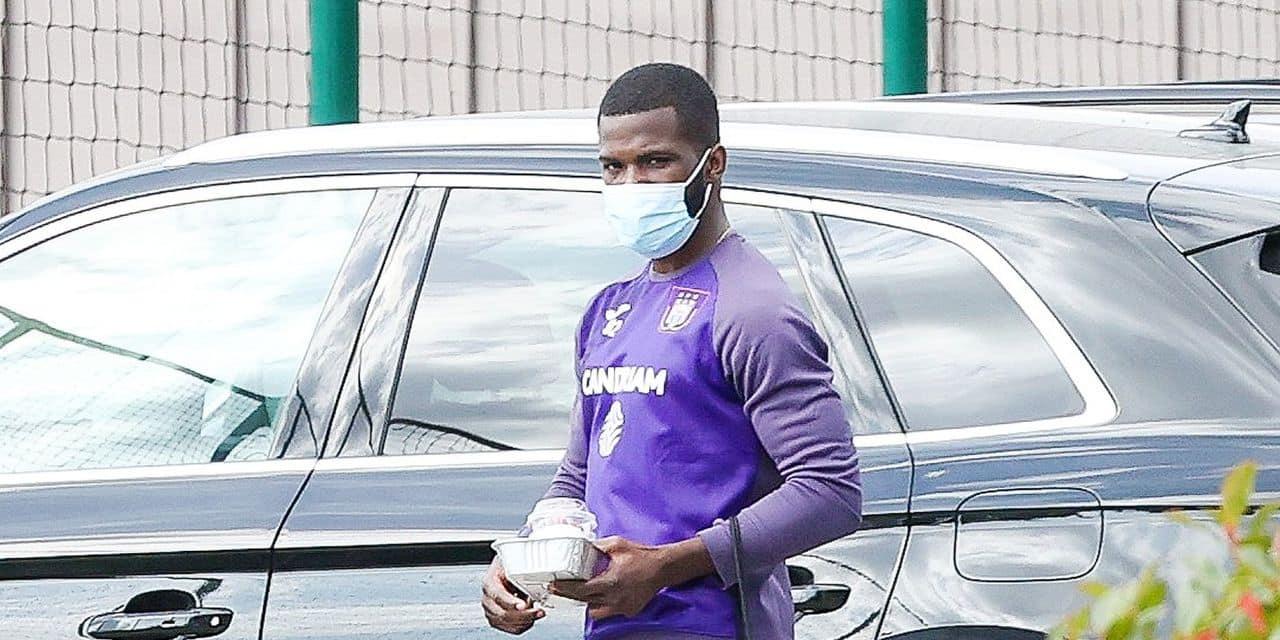 Kemar Lawrence est de retour à Anderlecht