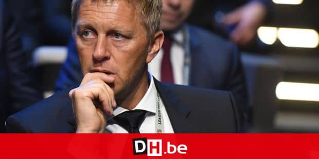 3280417 01/24/2018 Iceland's head coach Heimir Hallgrimsson at the UEFA Nations League draw in Lausanne, Switzerland. Grigory Sysoev/Sputnik Reporters / Novosti