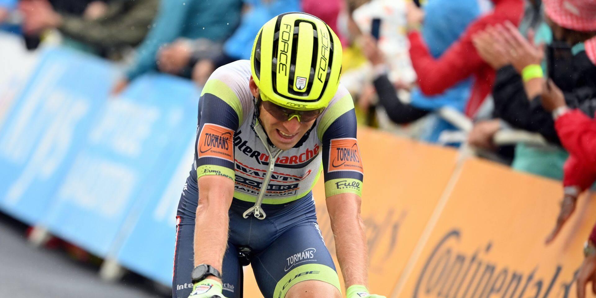 """Jan Bakelants, dans la bonne échappée au Tour: """"Je voulais démontrer que je suis encore un bon coureur…"""""""