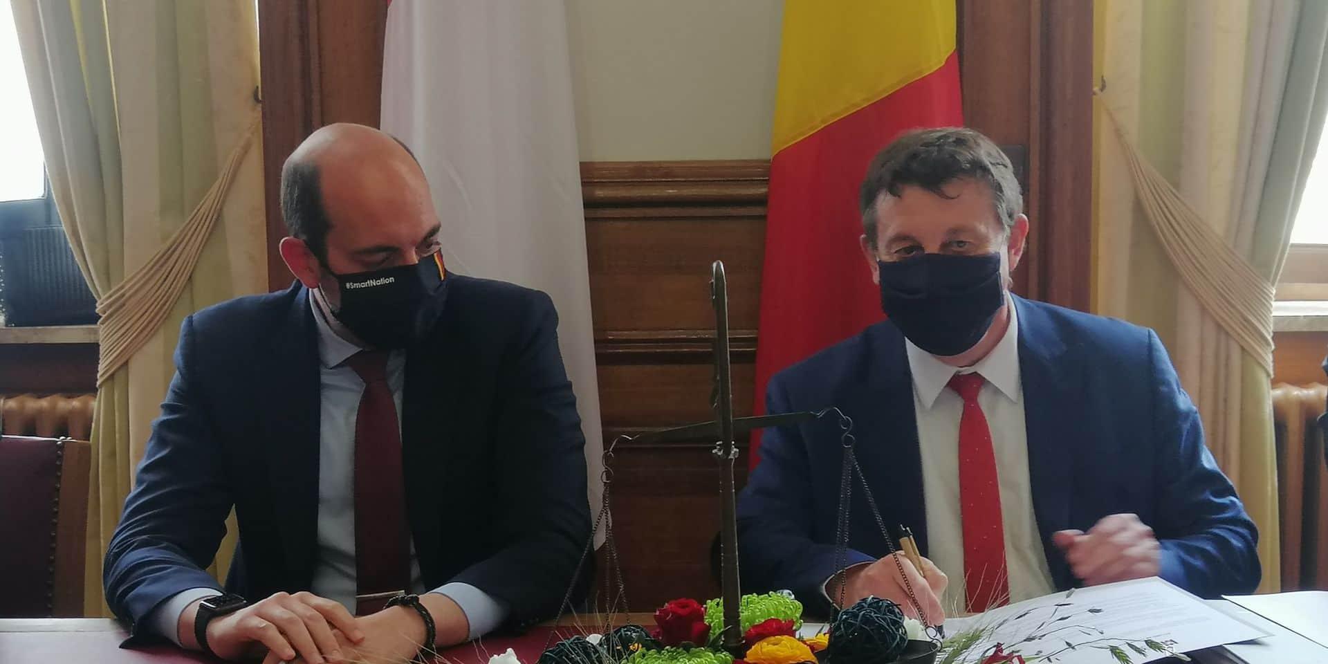 Tournai: un accord signé pour le futur Palais de Justice !