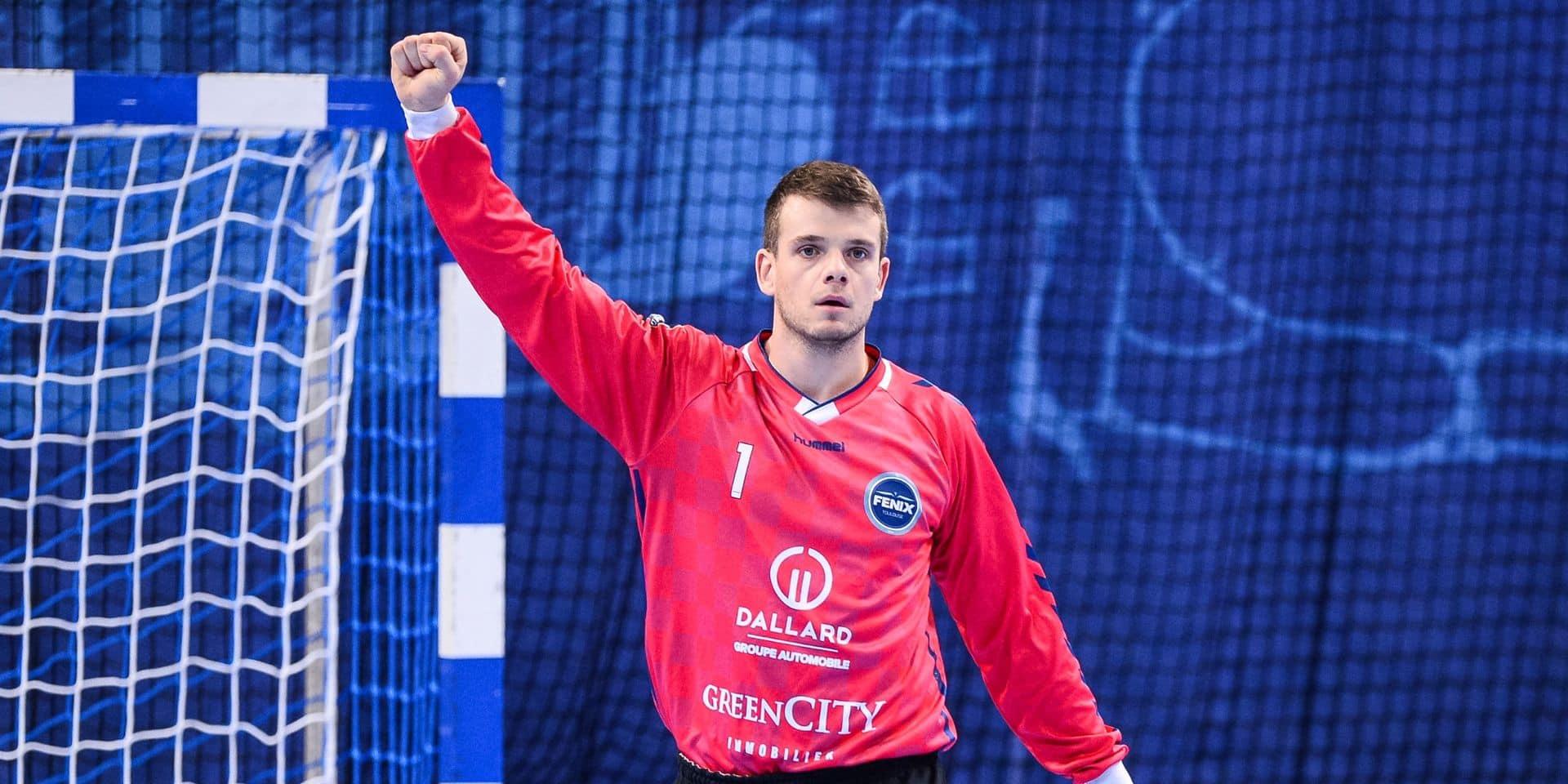 Handball: l'arrêt impressionnant du Belge Jef Lettens en EHF European League sur un penalty à la dernière seconde (VIDEO)