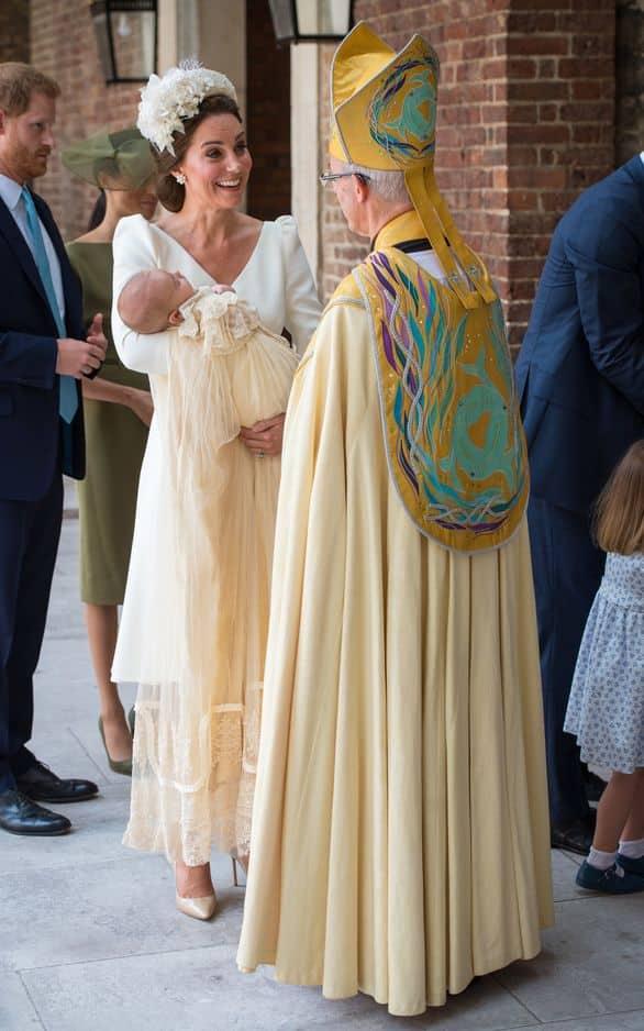 Kate et l'archevêque de canterbury