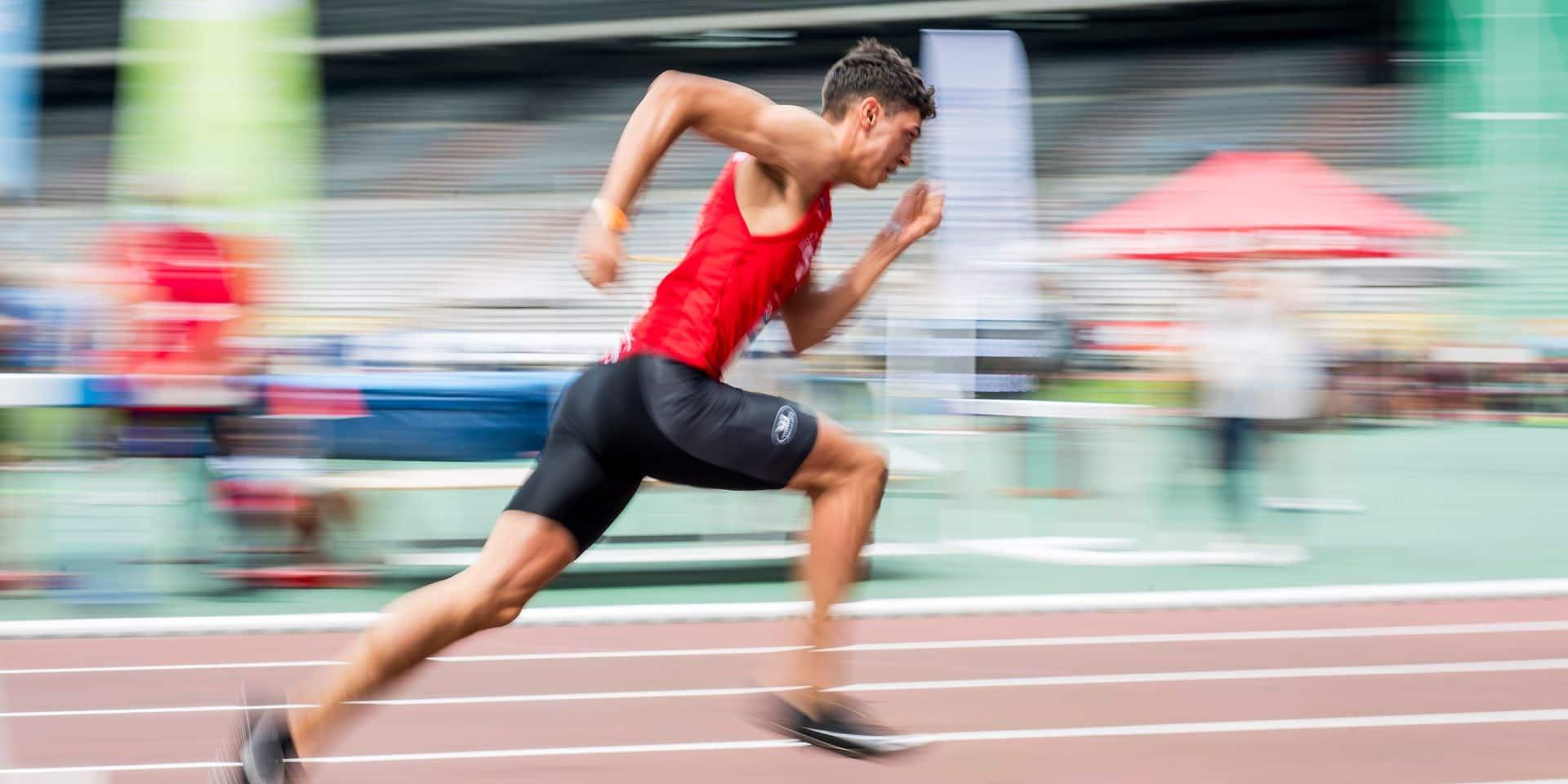 Jonathan Sacoor lance l'Euro des espoirs belges ce jeudi, sur 400m, à Tallinn