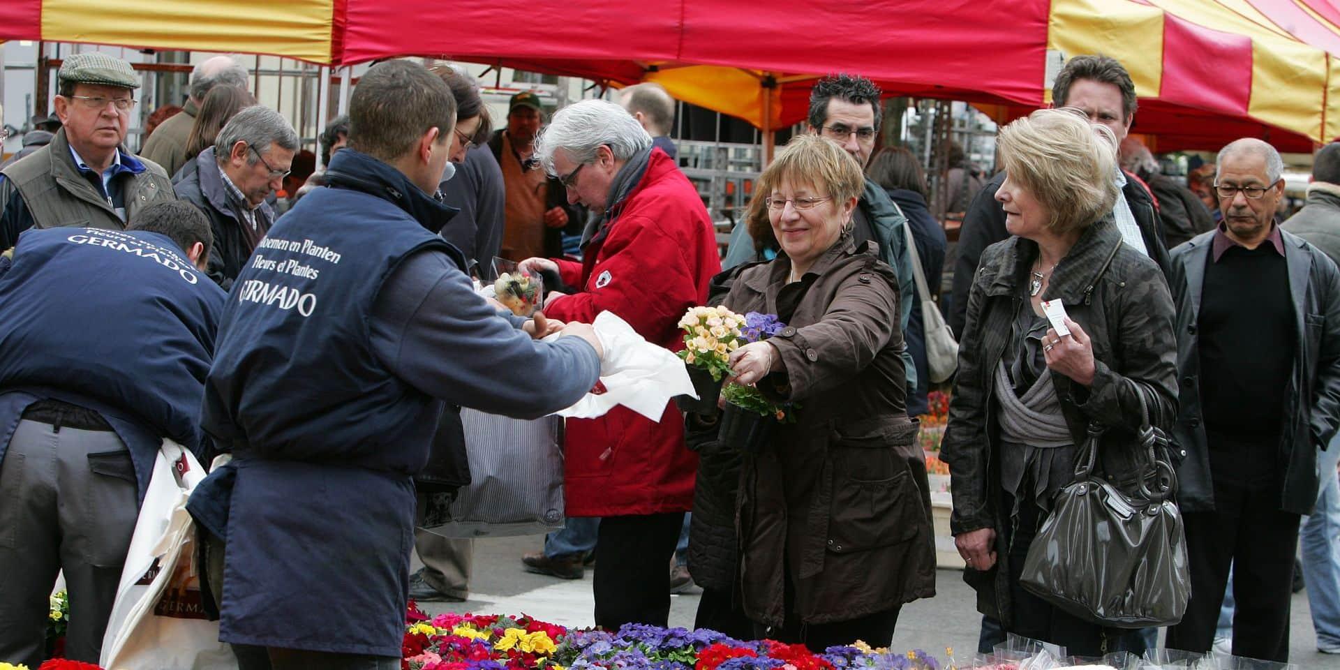 La Ville de Mons réorganise ses marchés du vendredi