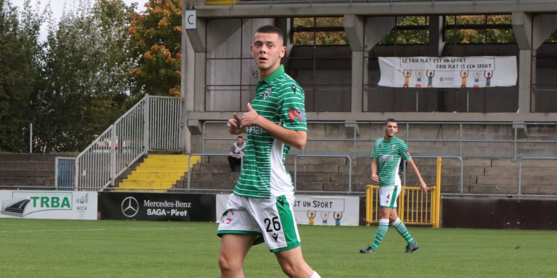 """Fin de saison compromise pour Thomas Wildemeersch (ex RCSC): """"le soutien des fans de Charleroi et des Francs Borains me fait plaisir"""""""