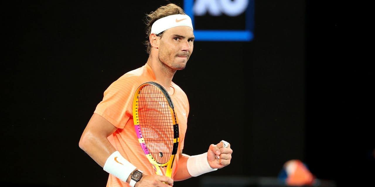 Le match à ne pas louper la nuit prochaine : un test de taille pour Nadal - dh.be