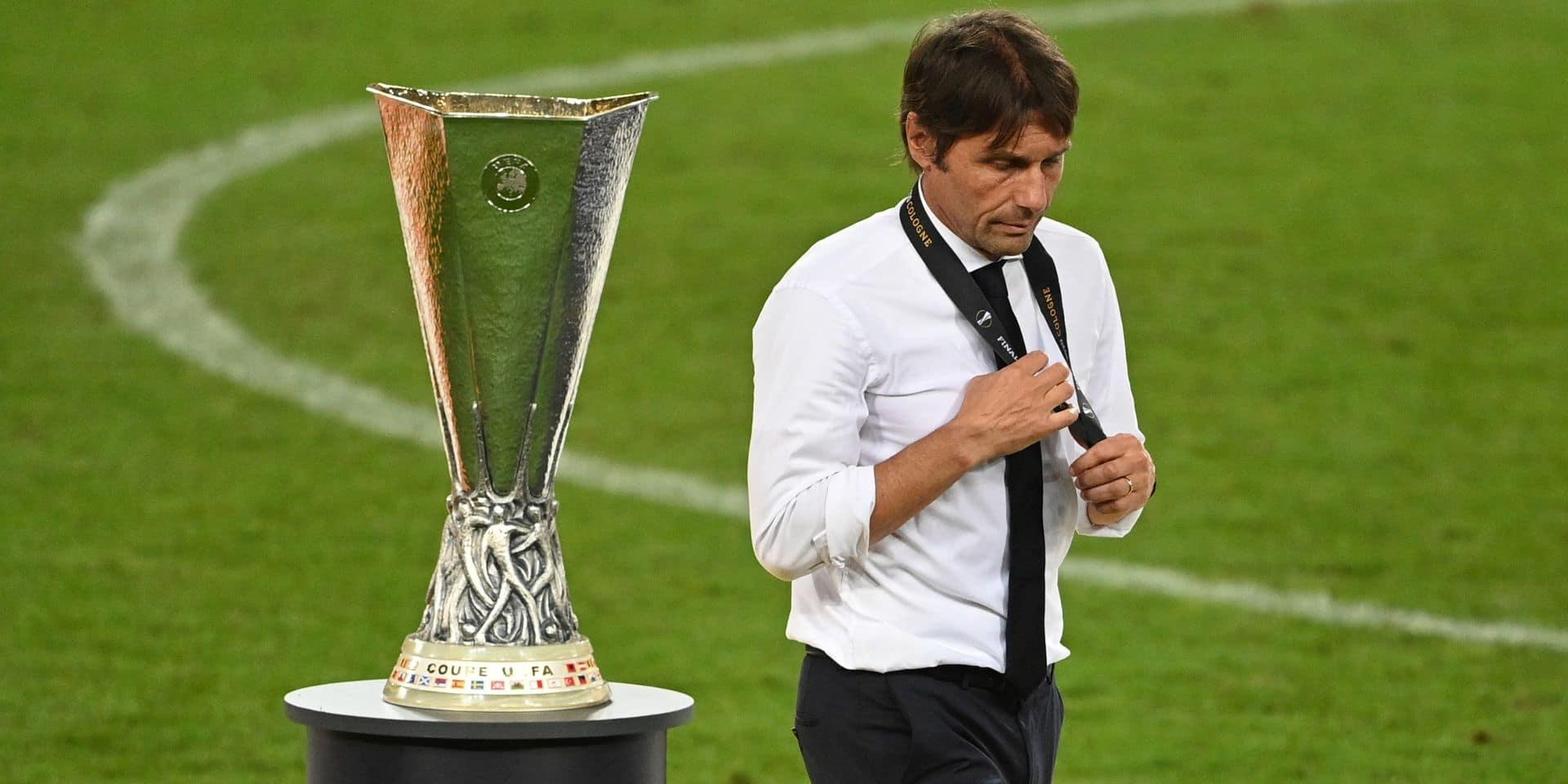 Conte laisse planer le doute sur son avenir à l'Inter