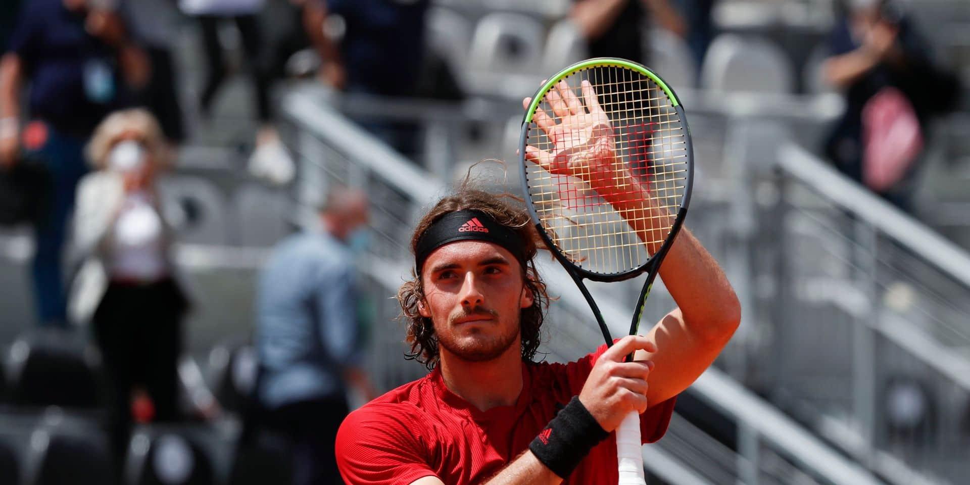 ATP Rome: Tsitsipas écarte Berrettini en huitièmes