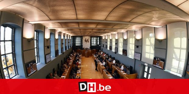 General view during a plenary session of the Walloon Parliament in Namur, Wednesday 17 October 2018. BELGA PHOTO ERIC LALMAND
