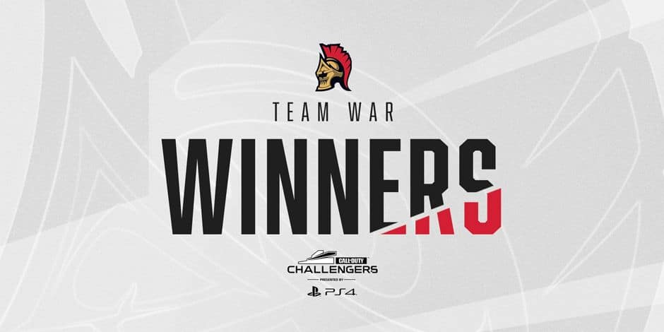 La Team WaR remporte les Call of Duty Challengers Europe 2020