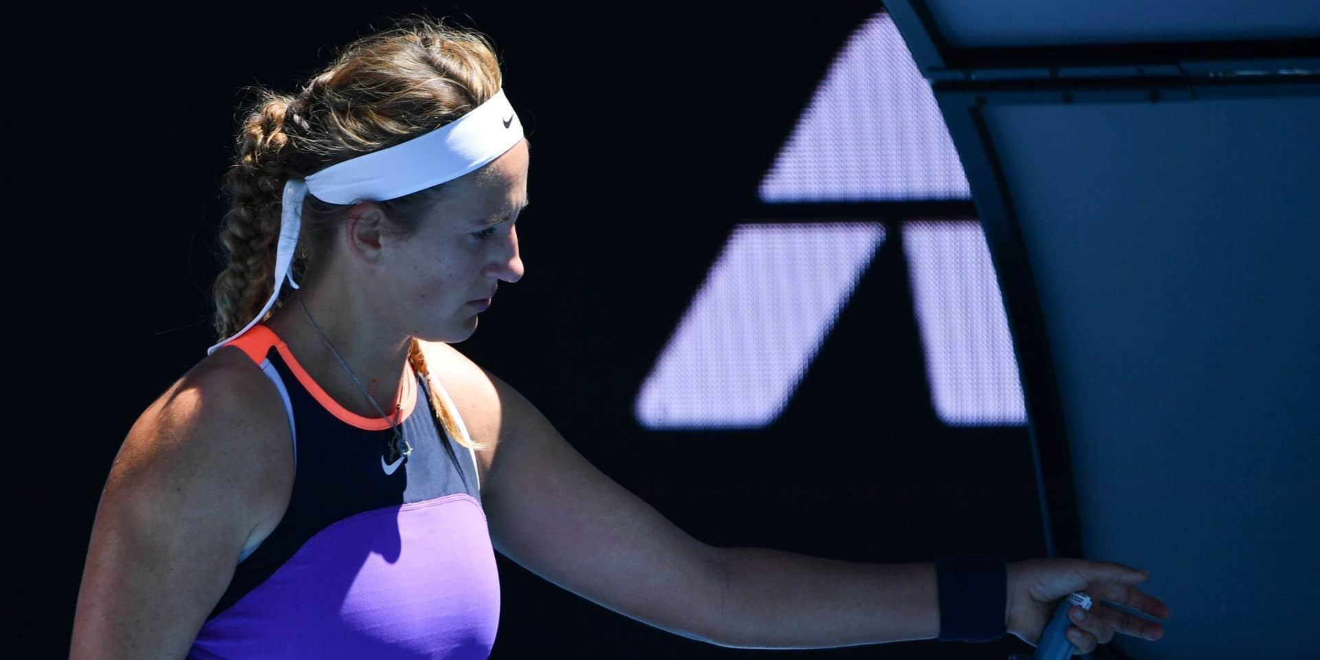 Blessée, Azarenka déclare forfait en demi-finale à Doha, Muguruza en finale face à Kvitova