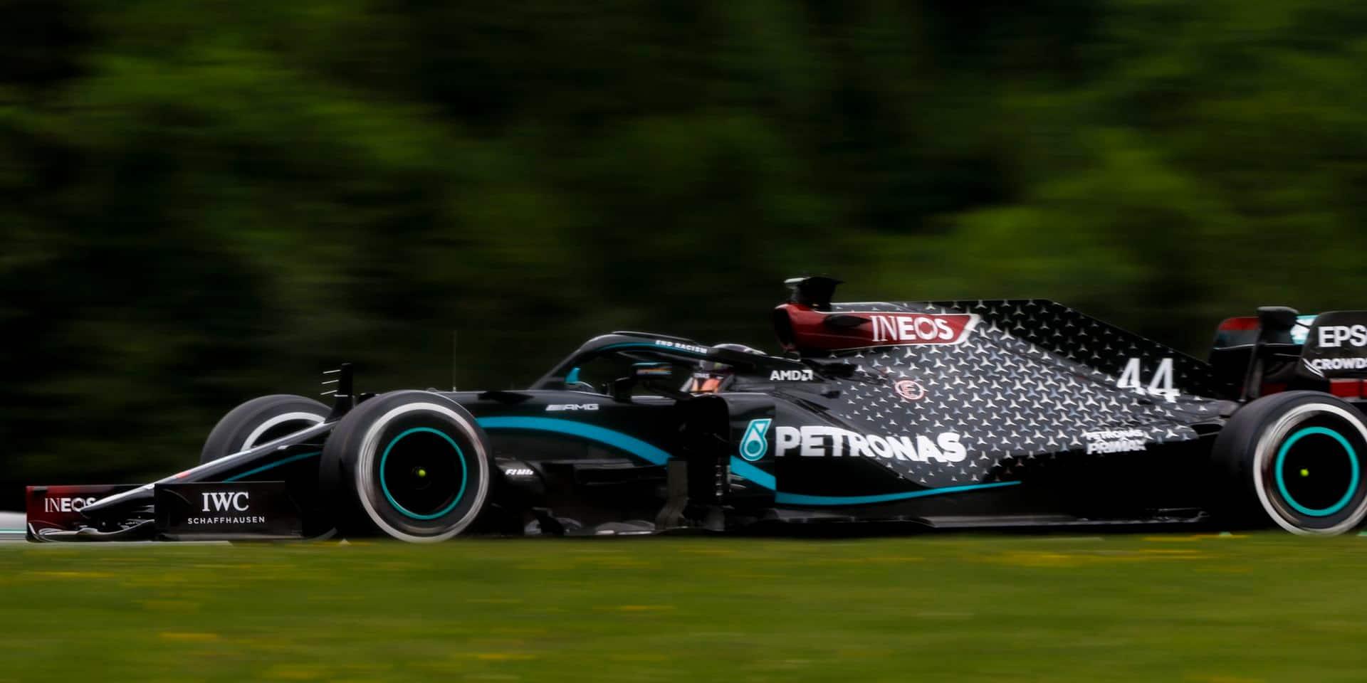 GP d'Autriche (Libres 1): Hamilton le plus rapide devant Bottas