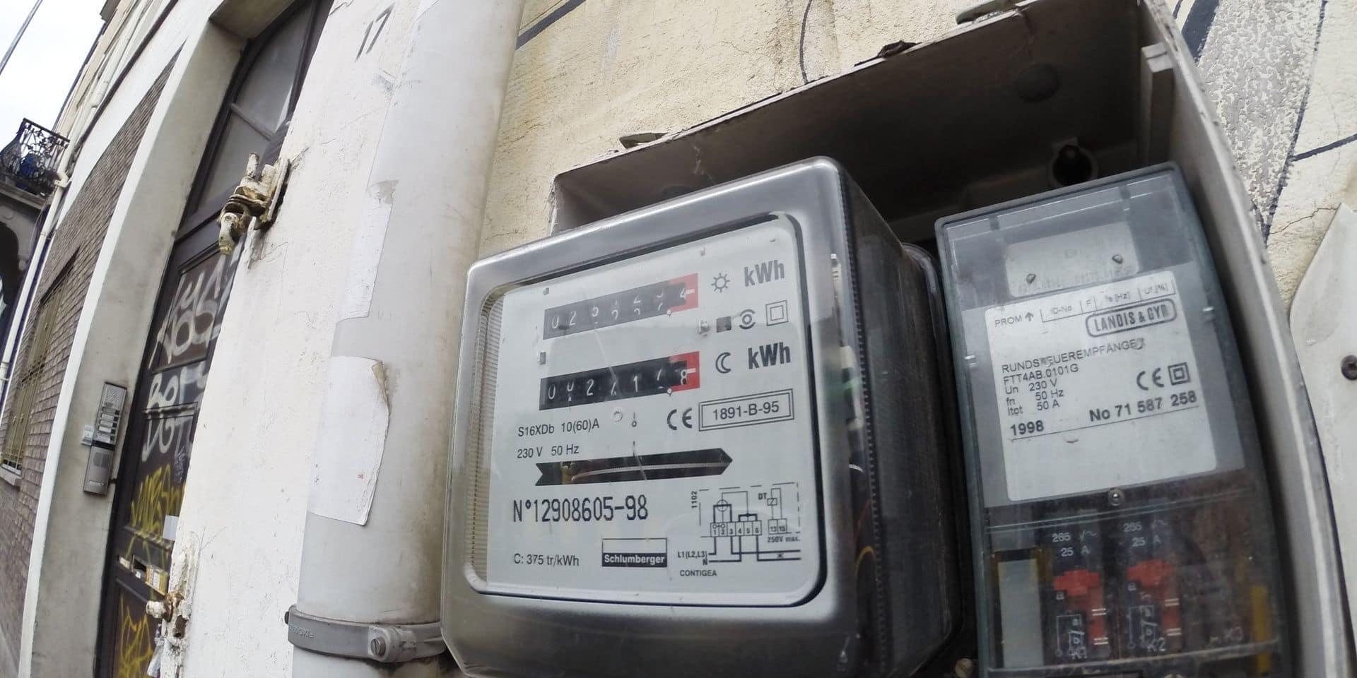 Bruxelles - Electricité - Compteur électrique