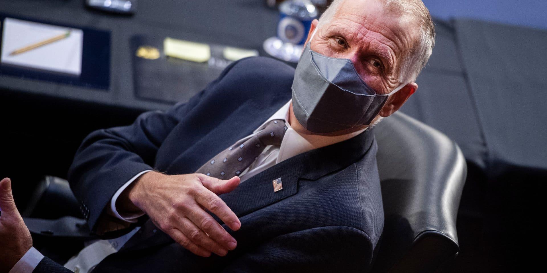 Le républicain Tom Tillis a été réélu au Sénat.