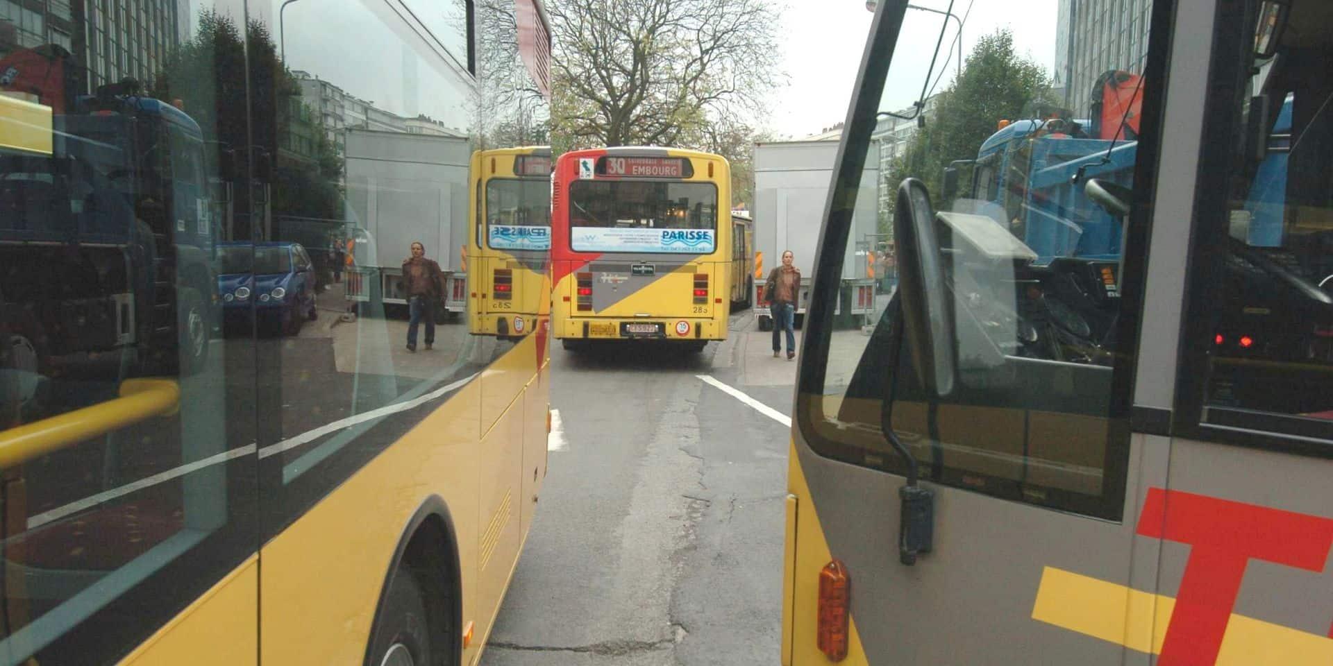 Bressoux : les bus restent déviés