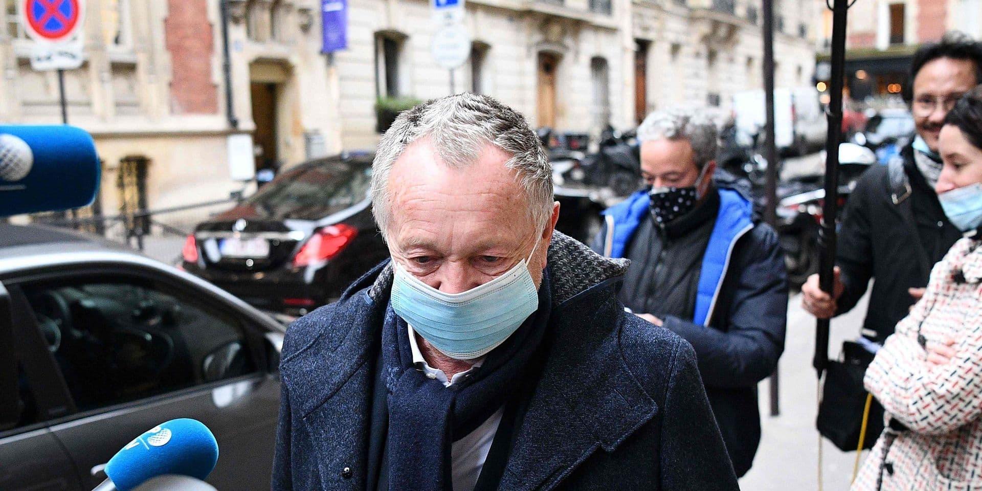 """Aulas, le président de Lyon, favorable à une Super League: """"Cela garantirait des places européennes en plus"""""""
