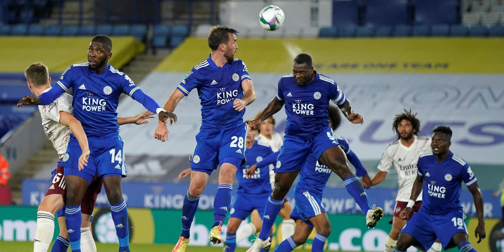 Les Belges à l'étranger: Leicester, avec Praet mais sans Tielemans et Castagne, éliminé en Coupe de la Ligue