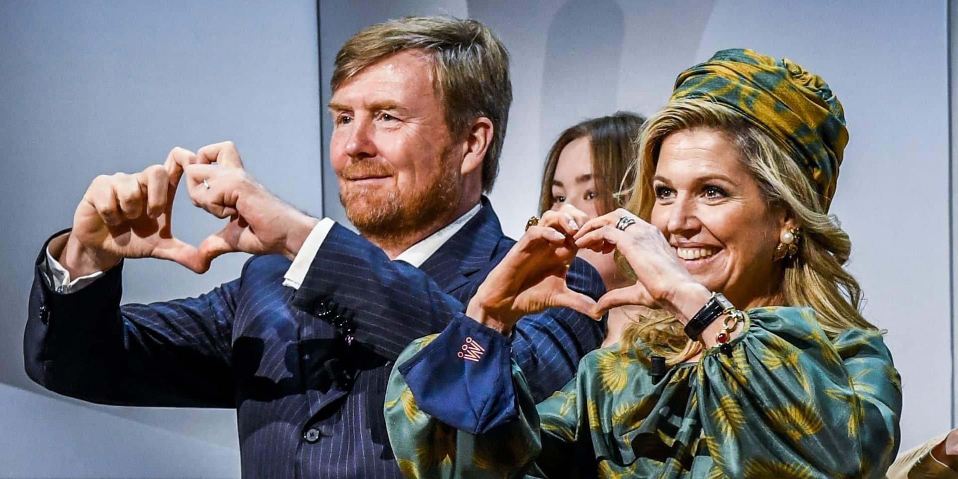Maxima s'inspire de la reine Mathilde pour la fête nationale des Pays-Bas