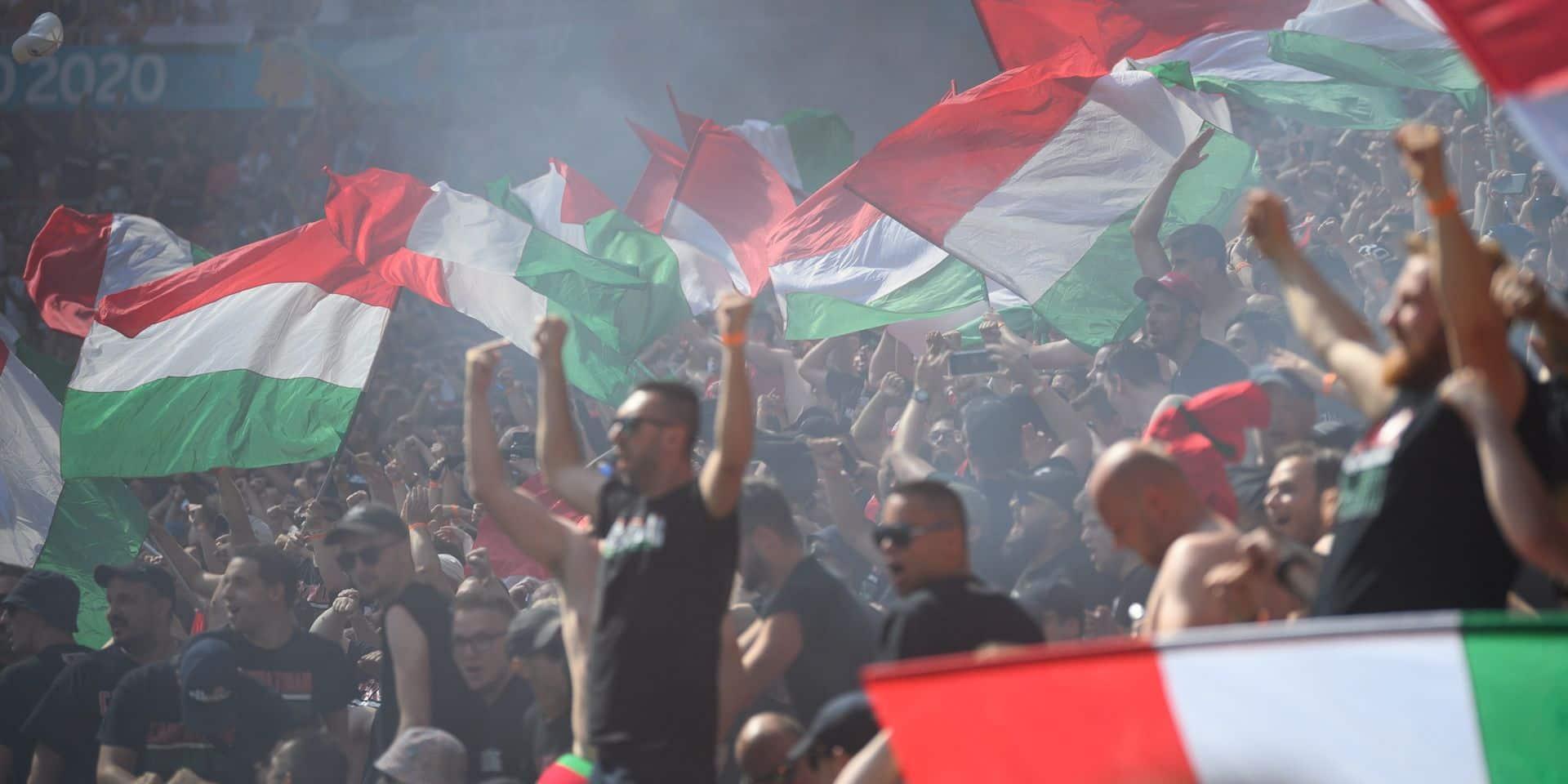Voici les sanctions infligées à la Hongrie suite au comportement de ses supporters durant l'Euro