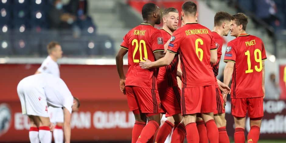 Les Diables se baladent face à la Biélorussie (8-0)