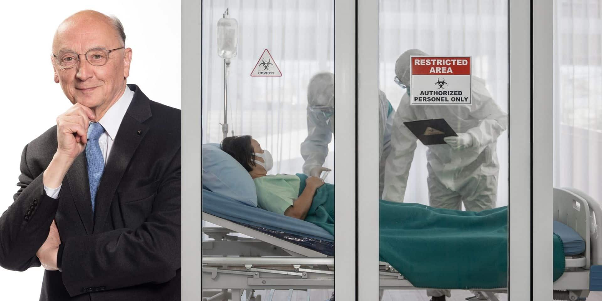 """En cas de saturation des hôpitaux, comment se fera le tri des patients ? """"L'âge ne sera pas le seul critère pris en compte"""""""