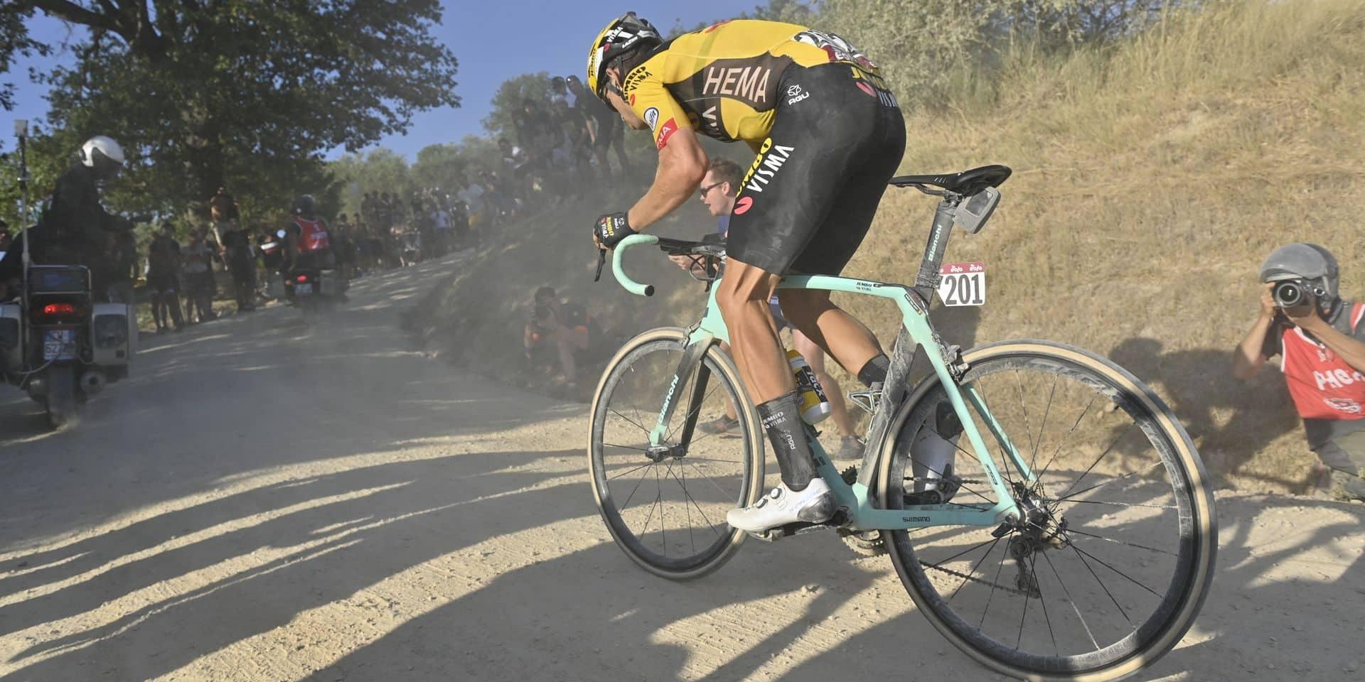 Strade Bianche: Wout Van Aert remporte la première classique de sa carrière !